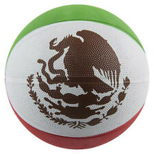 """9.5"""" Mexican Flag Basketball Toys Balls Sports Collectibles Gifts Prizes"""