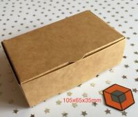 15 Brown Larger KRAFT Single slice Wedding CAKE favour / Party boxes