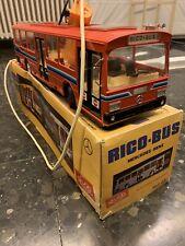 Autobus Mercedes Rojo De Rico Con Caja Original