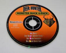 Deer Hunter Monster Buck 4-Pack (PC, 1999)