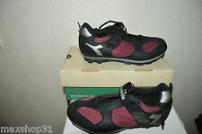 CHAUSSURE VELO DIADORA VTT MOUNTAIN BIKE CYCLISME T 39 /UK 6 NEUF SHOES /SCARPA/