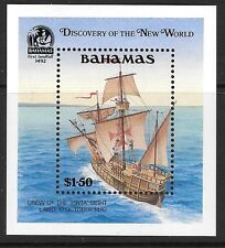 BAHAMAS SGMS912 1991 500th ANNIV OF DISCOVERY OF AMERICA BY COLUMBUS MNH