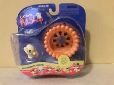 Hasbro Littlest Pet Shop Hamster Exercise Wheel #137 Portable Pets Lps 2005 New