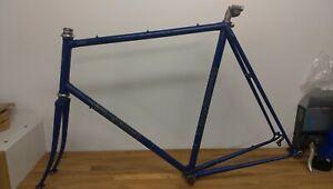 """531? Holdsworth frame and forks (frameset) 63cm / 24.5"""" - 1980 serial number"""