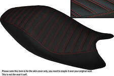 DESIGN 5 RED STITCH CUSTOM FITS DUCATI MONSTER 2008-2012 LEATHER SEAT COVER