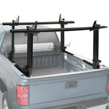450 LBS Black Two Bar Pickup Bed Mouting Ladder Kayak/Canoe Utility Rack Carrier