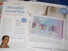 Flutterby Trio Design  Cross Stitch Chart (From Magazine) Gail Bussi