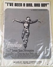Vintage 1966 Sheet Music I've Been A Bad, Bad, Boy Exploitation - Promotion Copy