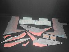 BRAND NEW GENUINE APRILIA RSV 1000 02 BLACK SIDE FAIRINGS DECAL SET AP8167940
