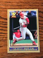 1998 Topps #25 Scott Rolen Baseball Card Philadelphia Phillies All Star Rookie