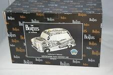 Beatles Newspaper Taxi COOKIE JAR Vandor 1998 NEW OLD STOCK MintinBox SHIPS FREE