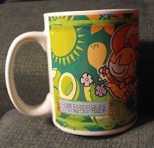 PowerPuff Girls Cartoon Network Ceramic Coffee Mug - Hawaii Hula Tiki Flower Lei
