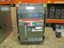 ABB SACE E2N-A 16 1600A 3P 600V MO/DO Breaker PR113/P-A w/ LSIG in Cell Used EOk