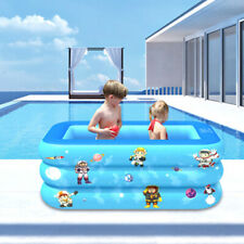 Rectangle Children Inflatable Pool Outdoor Family Swimming Pool Summer Sturdy