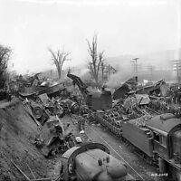 Nov. 6, 1916 Coal Train Coming Down the Mule Shoe Curve Altoona 8 X 10 Photo Pic