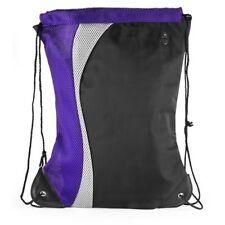 COLOR SPLASH SPORT PACK - Draw String Back Pack - Purple