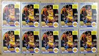 Earvin Magic Johnson 1990 NBA Hoops #157 10ct Card Lot