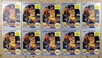 Earvin Magic Johnson 1990 NBA Hoops #157 10ct Card Lot