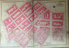1907 GREENWICH VILLAGE SHERIDAN SQUARE MANHATTAN NY ATLAS MAP
