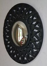 Stunning Marks and Spencer Black Starburst Mirror