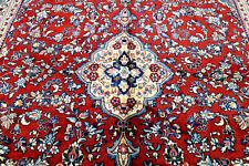 10X13 Breathtaking Masterpiece Mint Hand Knotted Kork Wool Sarooukk Oriental Rug