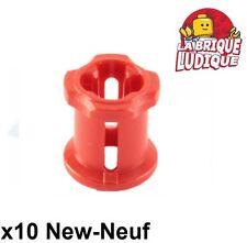 Lego technic - 10x Technic Bush rouge/red 3713 NEUF