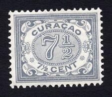Curacao 1908 stamp Mi#48 MH CV=36€