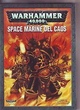WARHAMMER 40,000 - CODEX: SPACE MARINE DEL CAOS - COLLEZIONAMI SHOP