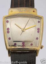 Hamilton Electric 505 mecanismo doublè caballeros-reloj pulsera 50er años