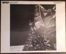 NASA AS11-40-5863 Egressing Kodak Serial Number Buzz Landing Module Lunar Moon
