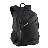 Caribee Post Graduate 25LT Backpack Educational School Bag BLACK