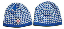 Cruz Azul FC Fitted Beanie Winter Hat Cap New W/Tags OSFM Official Product