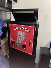 American Changer Ac6000 Bill Changer Dual Hopper Amp Validator Floor Model