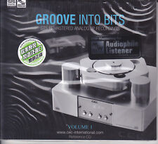 """Groove Into Bits Vol.1"" STS Digital MW Coding Process Audiophile Remastered CD"
