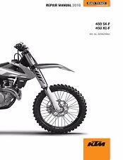 KTM Service Workshop Shop Repair Manual Book 2016 450 XC-F