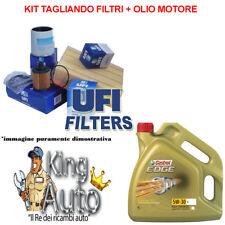 KIT TAGLIANDO AUDI A4 B8 2.0 TDI 105KW 143CV MOT CAGA + 5LT CASTROL EDGE 5W30 LL