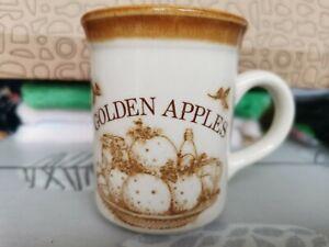 Vintage Biltons Golden Apples Mug With Pork Recipe