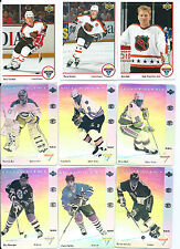 1991-92 McDonald's hockey Allstars 31 card master set all 6 holograms included