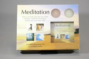 Meditation~ Contains Illustrated Book, CD and Scented Candles