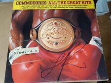 Lionel Richie Signed Commodores Autograph proof coa c