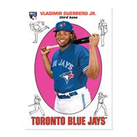 2019 Topps Throwback Thursday Set #52 - Vladimir Guerrero Jr. Toronto Blue Jays