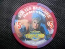 New listing Tropicana $5 Casino Chip ~ 35th Anniversary Limited Edition ~ Las Vegas Nevada