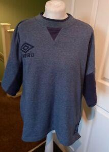 Men's Blue Umbro T-Shirt XL Pro Training
