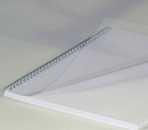 Renz Binding Covers, Transparent Clear, Thickness 0.20 mm DIN A4