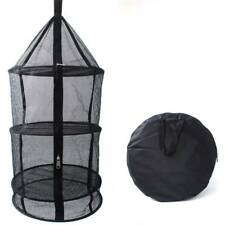 4 Layer Tier Collapsible Hydroponic Plant Grow Hanging Drying Net Rack Foldable