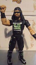 X-Pac Shawn Waltman (123 Kid) WWE WWF Jakks Wrestling Figur All Black 2002