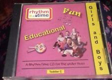 cd rhyme time for the under fives educational fun toddler