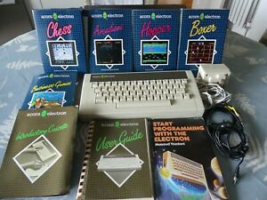 Acorn Electron Computer with 5 Games