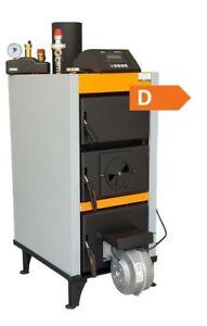 Festbrennstoffkessel 3,9 kW ohne Messpflicht Holzkessel mit Gebläse, Zubehör