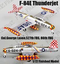 F-84E Thunderjet Col.George Laven 527 FBS 86 FBG 1/72 plane finished Easy model